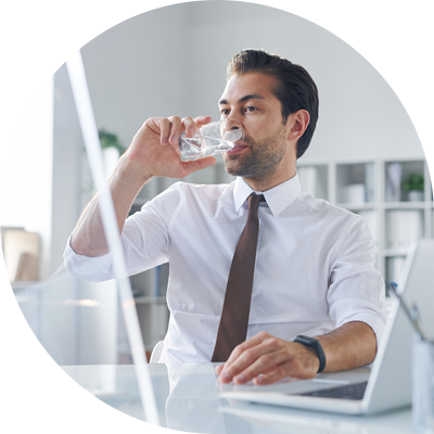 agua filtrada funcionarios beloarbebedouros
